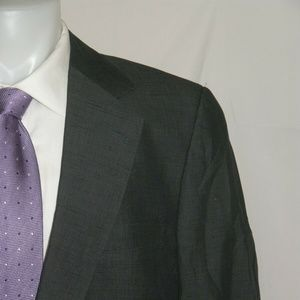 Gucci Vintage Silk Blend Two Button Hacking Suit